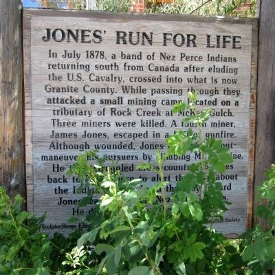 Jones' Run For Life Marker image. Click for full size.