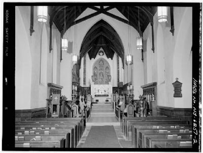 Church of the Holy Cross - View Down Nave Toward Apse image. Click for full size.