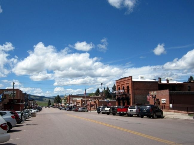 Philipsburg, Montana image. Click for full size.