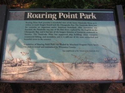 Roaring Point Park Marker image. Click for full size.