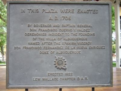 In This Plaza Were Enacted Marker image. Click for full size.