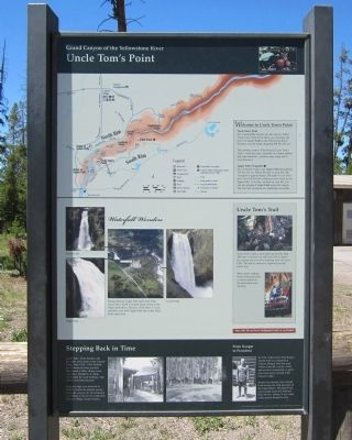 Uncle Tom's Point Marker image. Click for full size.