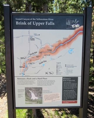 Brink of Upper Falls Marker image. Click for full size.
