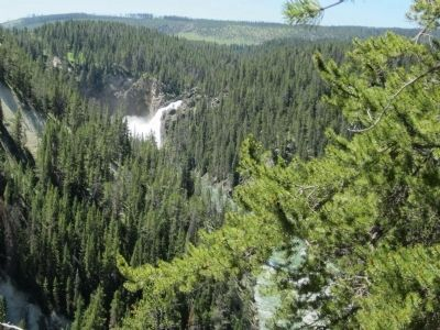 View of Upper Falls from the trail image. Click for full size.
