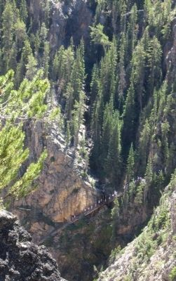 View of Uncle Tom's Trail across the canyon image. Click for full size.