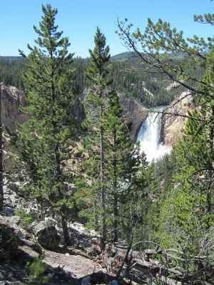 View of the Lower Falls image. Click for full size.