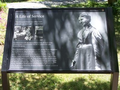 A Life of Service Marker image. Click for full size.