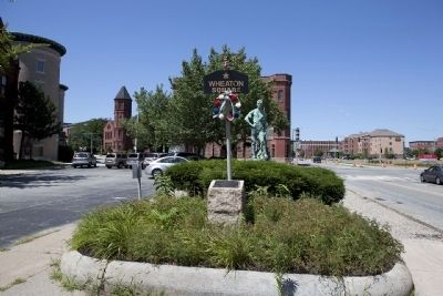 Wheaton Square Monument image. Click for full size.