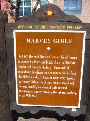 Harvey Girls Marker image. Click for full size.