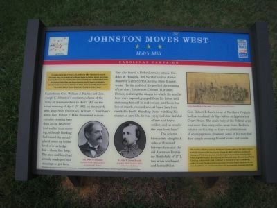 Johnston Moves West Marker image. Click for full size.