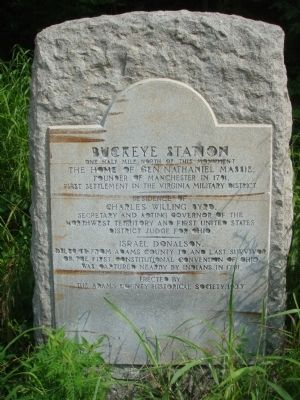 Buckeye Station Marker image. Click for full size.