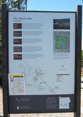 The Norris Area Marker image. Click for full size.