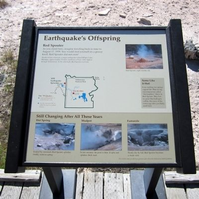Earthquake's Offspring Marker image. Click for full size.