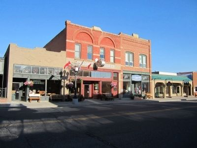 Red Lodge Commercial District image. Click for full size.