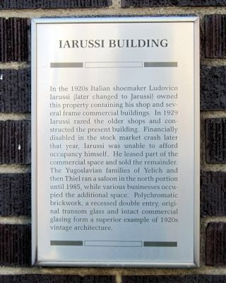 Iarussi Building Marker image. Click for full size.