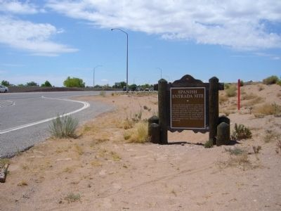Spanish Entrada Site Marker image. Click for full size.