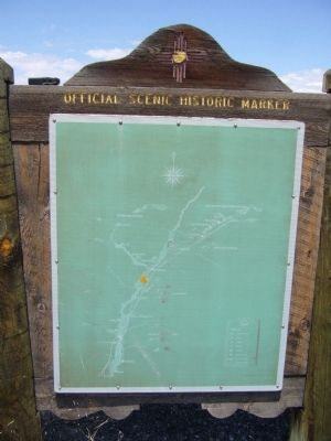 <i>Rear of</i> Bernalillo Marker image. Click for full size.