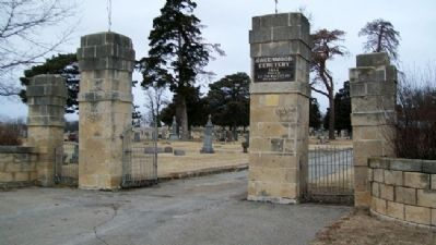 Greenwood Cemetery Entrance image. Click for full size.