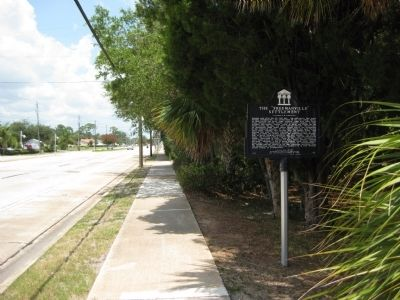 "The ""Freemanville"" Settlement Marker image. Click for full size."
