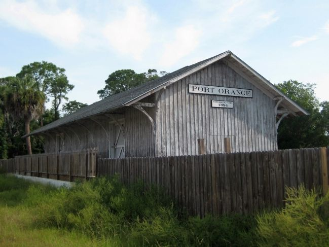 The Port Orange Florida East Coast Railway Freight Depot image. Click for full size.