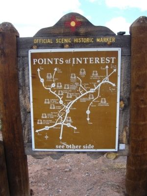 <i>rear of</i> Colorado Plateau Marker image. Click for full size.