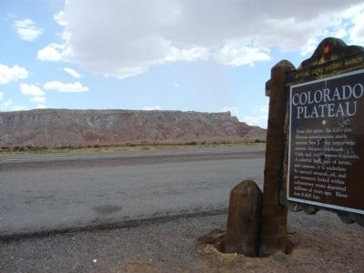 Colorado Plateau Marker image. Click for full size.