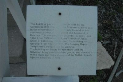 German Baptist Church of the Brethren Marker image. Click for full size.