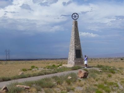 The Mormon Battalion Monument image. Click for full size.