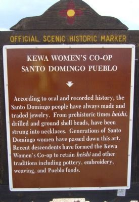 Kewa Women's Co-op Marker image. Click for full size.