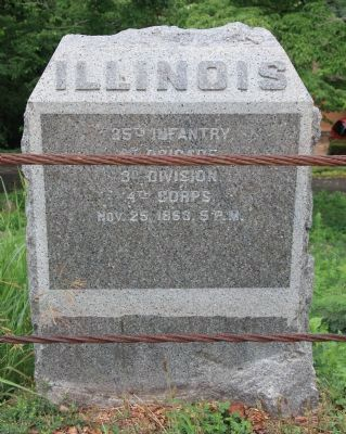 35th Illinois Infantry Monument image. Click for full size.