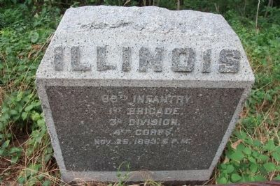 89th Illinois Monument image. Click for full size.