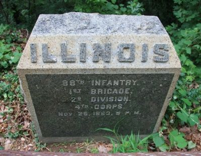 88th Illinois Monument image. Click for full size.