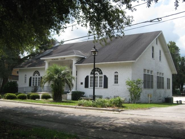 The Woman's Club of DeLand image. Click for full size.