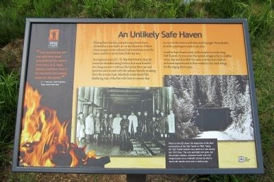 An Unlikely Safe Haven Marker image. Click for full size.