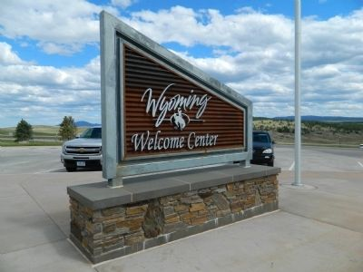 Wyoming Welcome Center image. Click for full size.