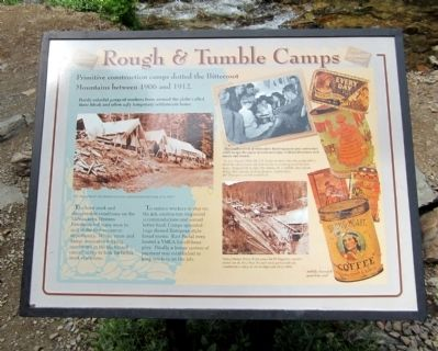 Rough & Tumble Camps Marker image. Click for full size.