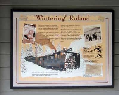 """Wintering"" Roland Marker image. Click for full size."