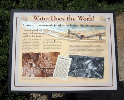Water Does the Work! Marker image. Click for full size.