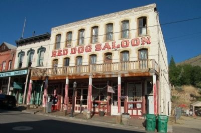 Red Dog Saloon image. Click for full size.