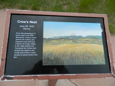 Crow's Nest Marker image. Click for full size.