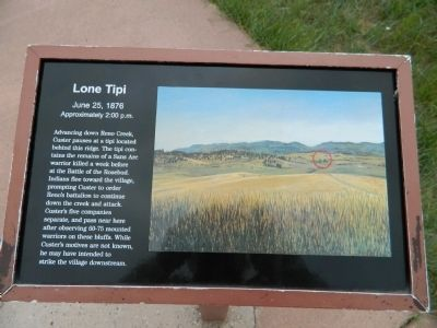 Lone Tipi Marker image. Click for full size.