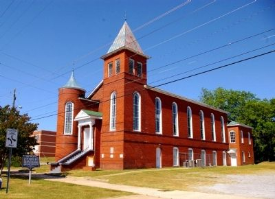 Saint John African Methodist Episcopal Church image. Click for full size.