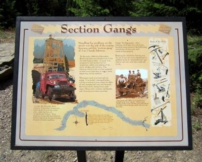 Section Gangs Marker image. Click for full size.