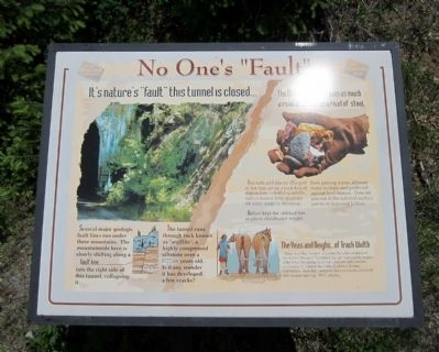 "No One's ""Fault"" Marker image. Click for full size."