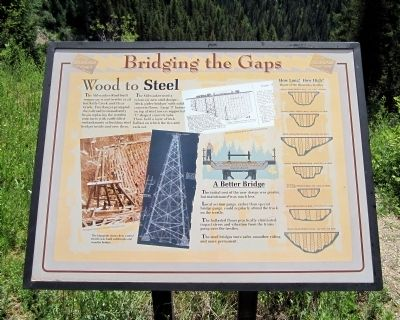 Bridging the Gaps Marker image. Click for full size.