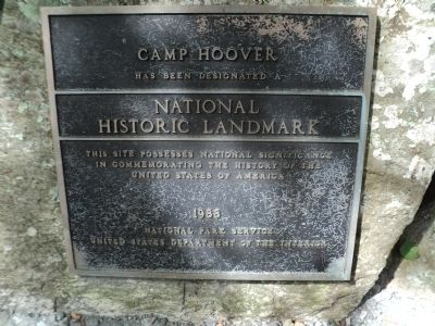 Camp Hoover Marker image. Click for full size.