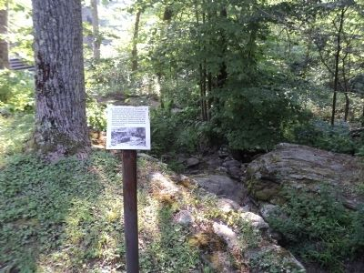 Mountain Streams in the Camp Marker image. Click for full size.