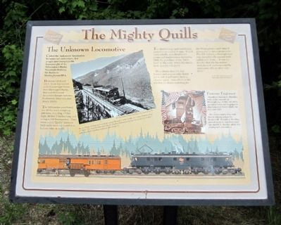 The Mighty Quills Marker image. Click for full size.