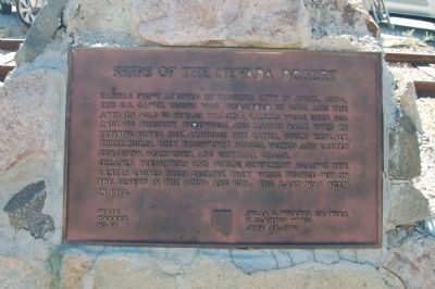 Ships of the Nevada Desert Marker image. Click for full size.