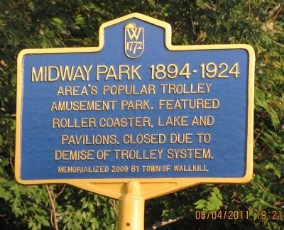 Midway Park 1894-1924 Marker image. Click for full size.
